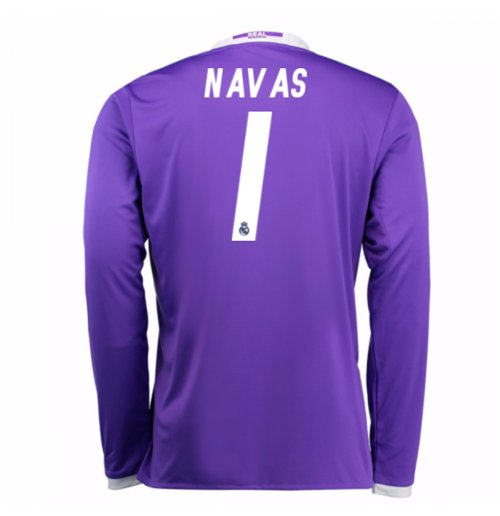 Trikot Real Madrid Away 2016/17 (Navas 1) - Kinder