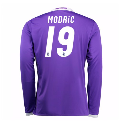 Trikot Real Madrid Away 2016/17 (Modric 19) - Kinder