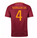 Trikot AS Rom 2016-2017 Home 2016/17 (Nainggolan 4) - Kinder