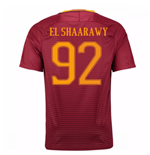 Trikot AS Rom 2016-2017 Home 2016/17 (El Shaarawy 92)