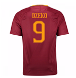 Trikot AS Rom 2016-2017 Home (Dzeko 9) - Kinder