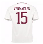 Trikot AS Rom 2016-2017 Away 2016/17 (Vermaelen 15) - Kinder