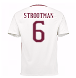 Trikot AS Rom 2016-2017 Away 2016/17 (Strootman 6) - Kinder