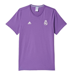 T-Shirt Real Madrid 2016/17 Adidas 3S (violet)