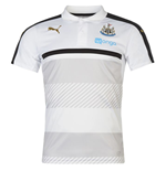 Polohemd Newcastle United 2016-2017 (Weiss)