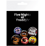 Brosche Five Nights at Freddy's Mix