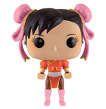 Street Fighter POP! Games Vinyl Figur Chun-Li (Red Outfit) 9 cm