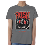 T-Shirt Rush World a Stage Tour 1977