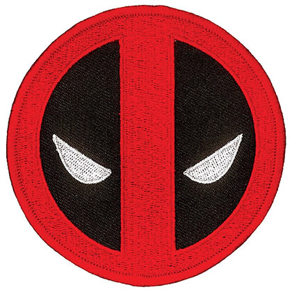 Aufnäher Deadpool Iron On Patch