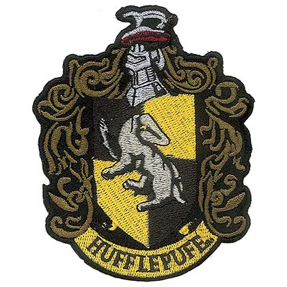 Aufnäher Harry Potter Hufflepuff Thermoadhesiv