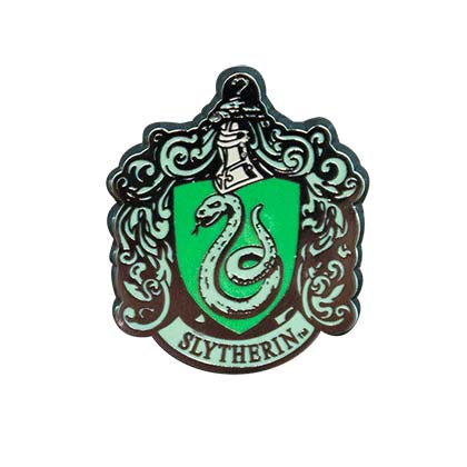 Brosche Harry Potter Slytherin