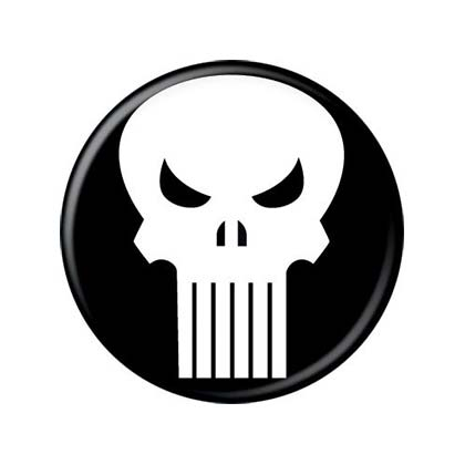 Brosche The punisher