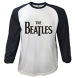 T-Shirt Beatles -  Raglan Baseball Drop T Logo