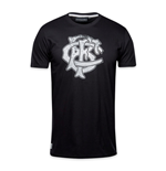T-Shirt Barbarians Distressed Crest 2016-2017 (Schwarz)