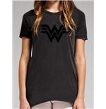 T-Shirt Wonder Woman - Vintage Logo
