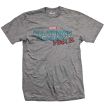 T-Shirt Guardians of the Galaxy Vol. 2 Vintage Colour Logo