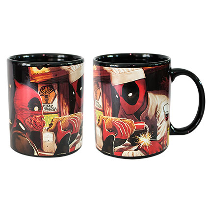 Tasse Deadpool  Heat Reveal