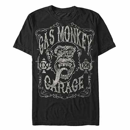 T-Shirt Gas Monkey Garage Vintage Monkey