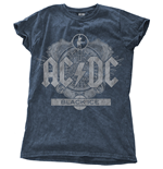 T-Shirt AC/DC - Back Ice Blue