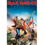 Poster Iron Maiden - Trooper 61 x 91,5 cm.