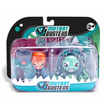 Spielzeug Mutant Busters - Acqua - Action Pack Sheriff & Cracon
