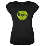 The Beatles T-Shirt für Frauen - Design: Apple Logo