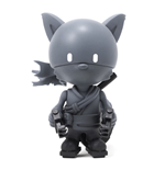 Huck Gee Gold Life Series Figur Raku Night Shadow Edition 10 cm