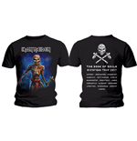 T-Shirt Iron Maiden Axe Eddie Book of Aouks European Tour. (Version 2)