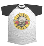 T-Shirt Guns N' Roses: Circle Logo