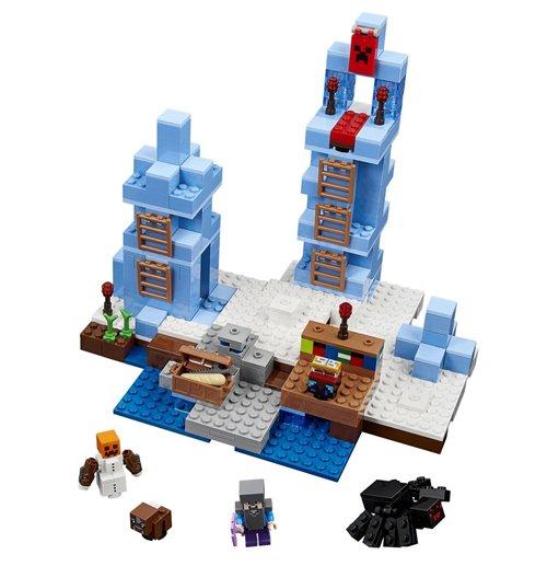 lego minecraft t rme aus eis original kaufen sie online im angebot. Black Bedroom Furniture Sets. Home Design Ideas