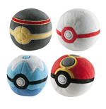 Pokemon Pokeball Plüsch 7 cm Display D2 (6)