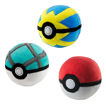 Pokemon Pokeball Plüsch 7 cm Display D3 (6)