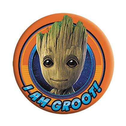 Brosche Guardians of the Galaxy Groot Orange