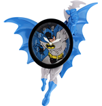 Batman 3D Motion Wanduhr Swinging Batman