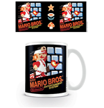 Super Mario Bros. Tasse NES Cover