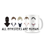 American Horror Story Tasse All Monster Are Human