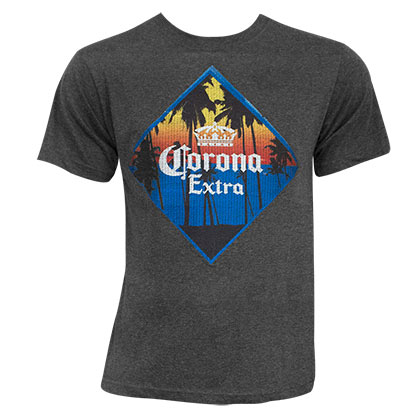 T-Shirt Coronita Extra Embroidered Charcoal