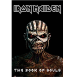 Poster Iron Maiden - The Book of Souls. Grosse: 61 x 91,5 cm.