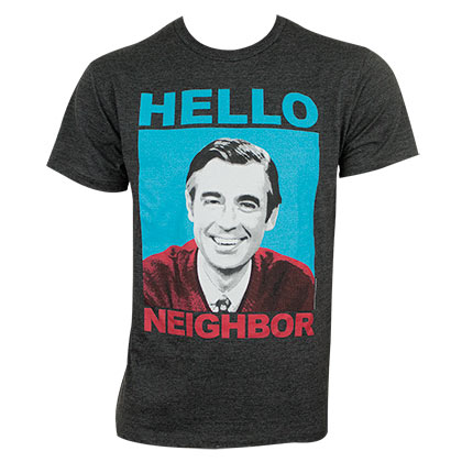 T-Shirt Mister Rogers' Neighborhood für Männer