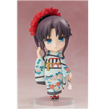 Fate/ Stay Night Chara Forme Plus PVC Statue Rin Tohsaka Kimono Version 10 cm