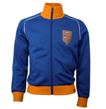 Trainingsjacke Vintage Holland Fussball (Blau)