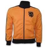 Trainingsjacke Vintage Holland Fussball (Orange)