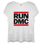T-Shirt Run DMC Logo with Skinny Fitting