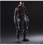 Final Fantasy VII Remake Play Arts Kai Actionfigur No. 2 Barret Wallace 30 cm