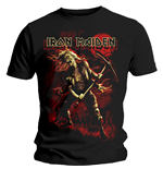 T-Shirt Iron Maiden - Benjamin Breeg Red Graphic
