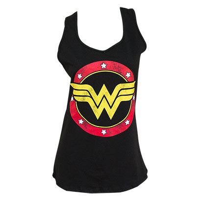 Top Wonder Woman für Frauen Racerback