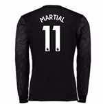 Trikot 2017/18  Manchester United FC 2017-2018 Away (Martial 11)