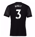 Trikot 2017/18  Manchester United FC 2017-2018 Away Kinder (Bailly 3)