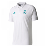 Polohemd Real Madrid 2017-2018 (Weiss)