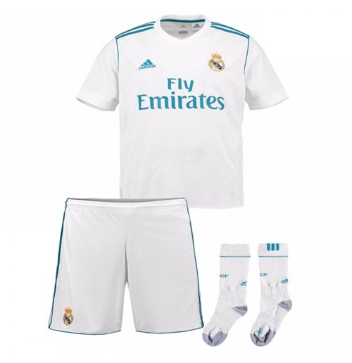 Set 2017/18  Real Madrid 2017-2018 Home Kinder